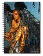 Perched On Bourbon Street Spiral Notebook