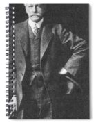 Percival Lowell, American Astronomer Spiral Notebook
