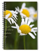 Perfection In The World Spiral Notebook