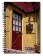 Perfectly Paletted Doorway Spiral Notebook