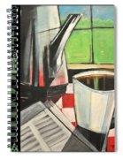Perk Coffee Languages Poster Spiral Notebook