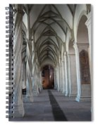 Perpendicular Cross Vault Spiral Notebook