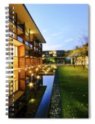 Perspective Of Contemporary Architecture Spiral Notebook