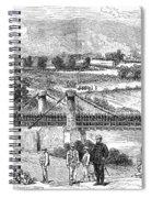Peru: Chilean Army, 1881 Spiral Notebook