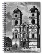 Peru: Jesuit Church, 1869 Spiral Notebook