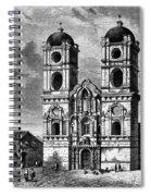 Peru: Jesuit Church, 1869 Spiral Notebook