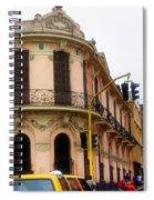 Peruvian Streets Spiral Notebook