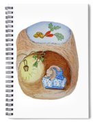 Peter Rabbit And His Dream Spiral Notebook