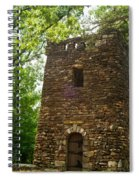 Petit Jean Water Tower 2 Spiral Notebook