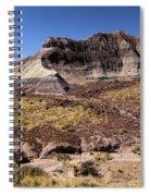 Petrified Forest Badlands Spiral Notebook