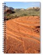 Petrified Sand Dunes - Snow Canyon Utah  Spiral Notebook
