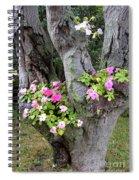 Petunia Tree Spiral Notebook