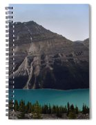 Peyto Lake - Canadian Rocky Mountains Spiral Notebook