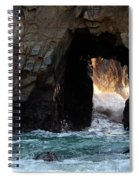 Pfeiffer Rock Big Sur Spiral Notebook
