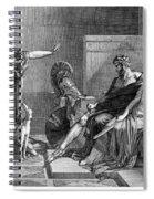 Phaedra And Hippolytus Spiral Notebook