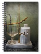 Pharmacy - Victorian Apparatus  Spiral Notebook