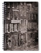 Philadelphia 1843 Spiral Notebook