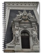Philadelphia City Hall Window Spiral Notebook