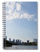 Philadelphia From Kelly Drive Spiral Notebook