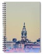 Philadelphia From South Camden Spiral Notebook