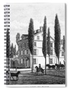 Philadelphia: House, C1800 Spiral Notebook