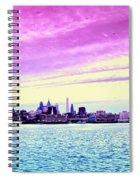 Philadelphia Morning View Spiral Notebook