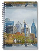Philadelphia Skyline - Mirror Box Spiral Notebook