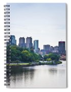 Philadelphia View From The Girard Avenue Bridge Spiral Notebook