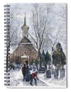 Philadelphia: Winter, 1873 Spiral Notebook