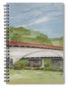 Philippi Covered Bridge  Spiral Notebook