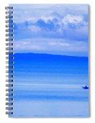 Philippine Sea Sunrise Spiral Notebook
