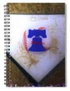 Phillies Home Plate Spiral Notebook