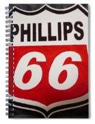 Phillips 66 Spiral Notebook