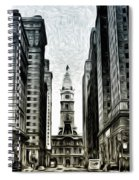Philly - Broad Street Spiral Notebook