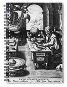Philosopher, C1580 Spiral Notebook