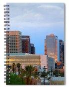 Phoenix Skyline At Dusk Spiral Notebook
