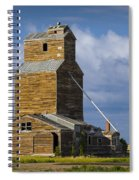 Photograph Of A  Prairie Barn Spiral Notebook