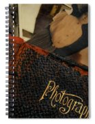 Photographs From Another Time Spiral Notebook