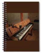 Piano Candelabra Spiral Notebook