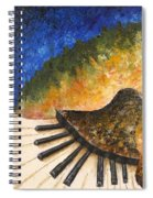 Piano Jazz Spiral Notebook