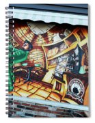 Piano Man 3 Spiral Notebook