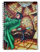 Piano Man Spiral Notebook