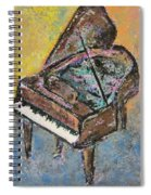 Piano Study 2 Spiral Notebook