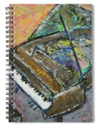 Piano Study 4 Spiral Notebook