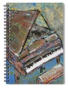 Piano Study 5 Spiral Notebook