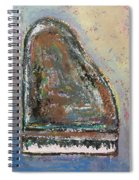 Piano Study 6 Spiral Notebook