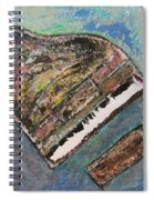 Piano Study 7 Spiral Notebook