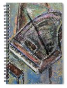 Piano Study 9 Spiral Notebook