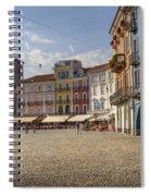 Piazza Grande - Locarno Spiral Notebook