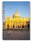 Piazza San Pietro Spiral Notebook